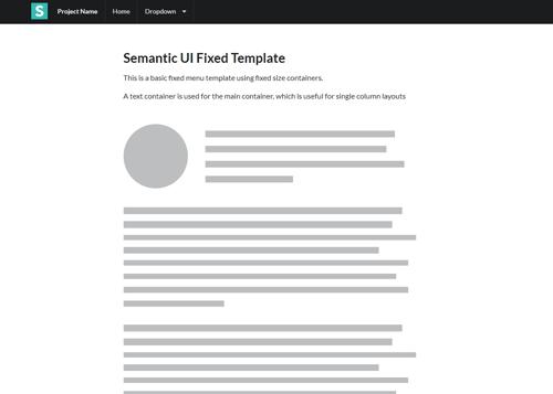 Layouts | Semantic UI